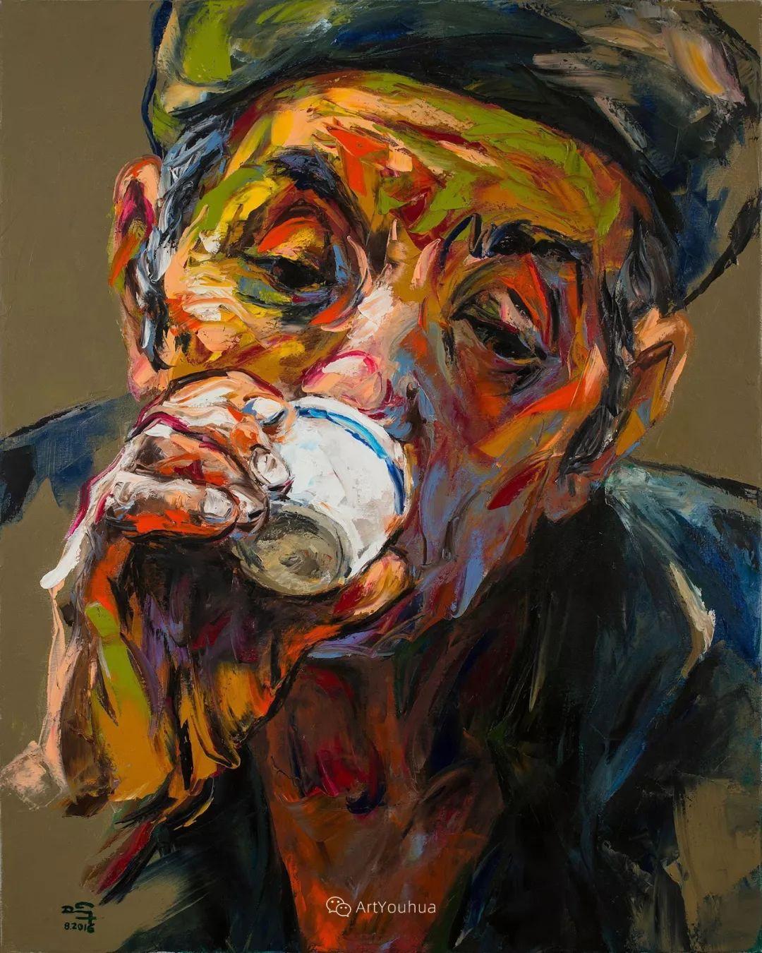 热情奔放的色彩,越南艺术家麦惠东插图51