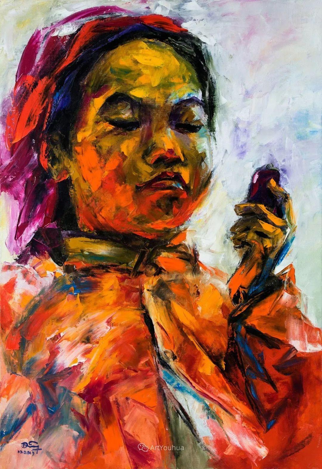 热情奔放的色彩,越南艺术家麦惠东插图53