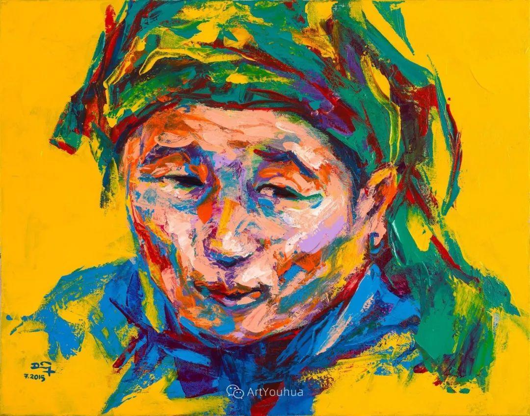 热情奔放的色彩,越南艺术家麦惠东插图54
