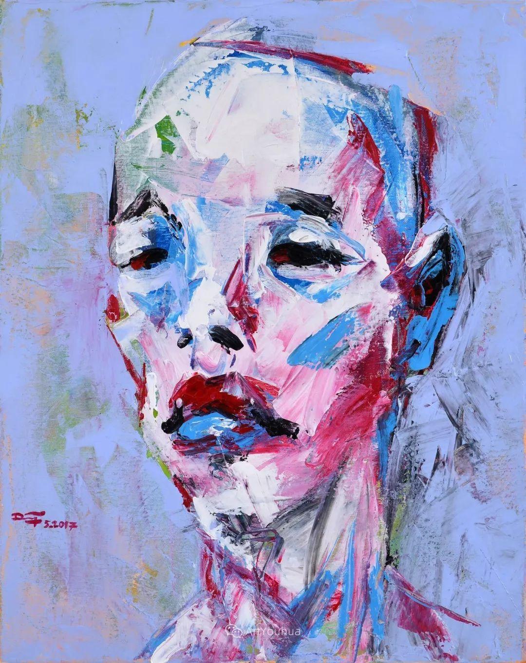 热情奔放的色彩,越南艺术家麦惠东插图55
