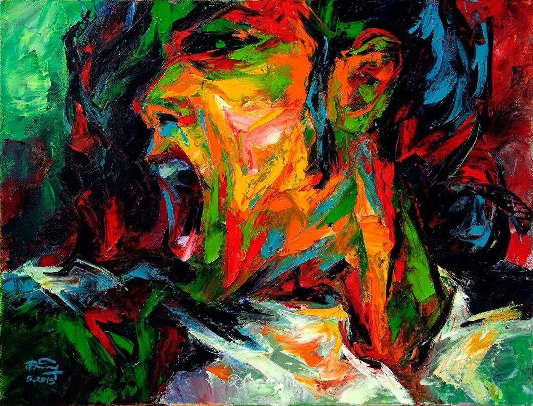 热情奔放的色彩,越南艺术家麦惠东插图57