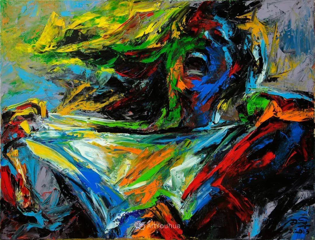 热情奔放的色彩,越南艺术家麦惠东插图58