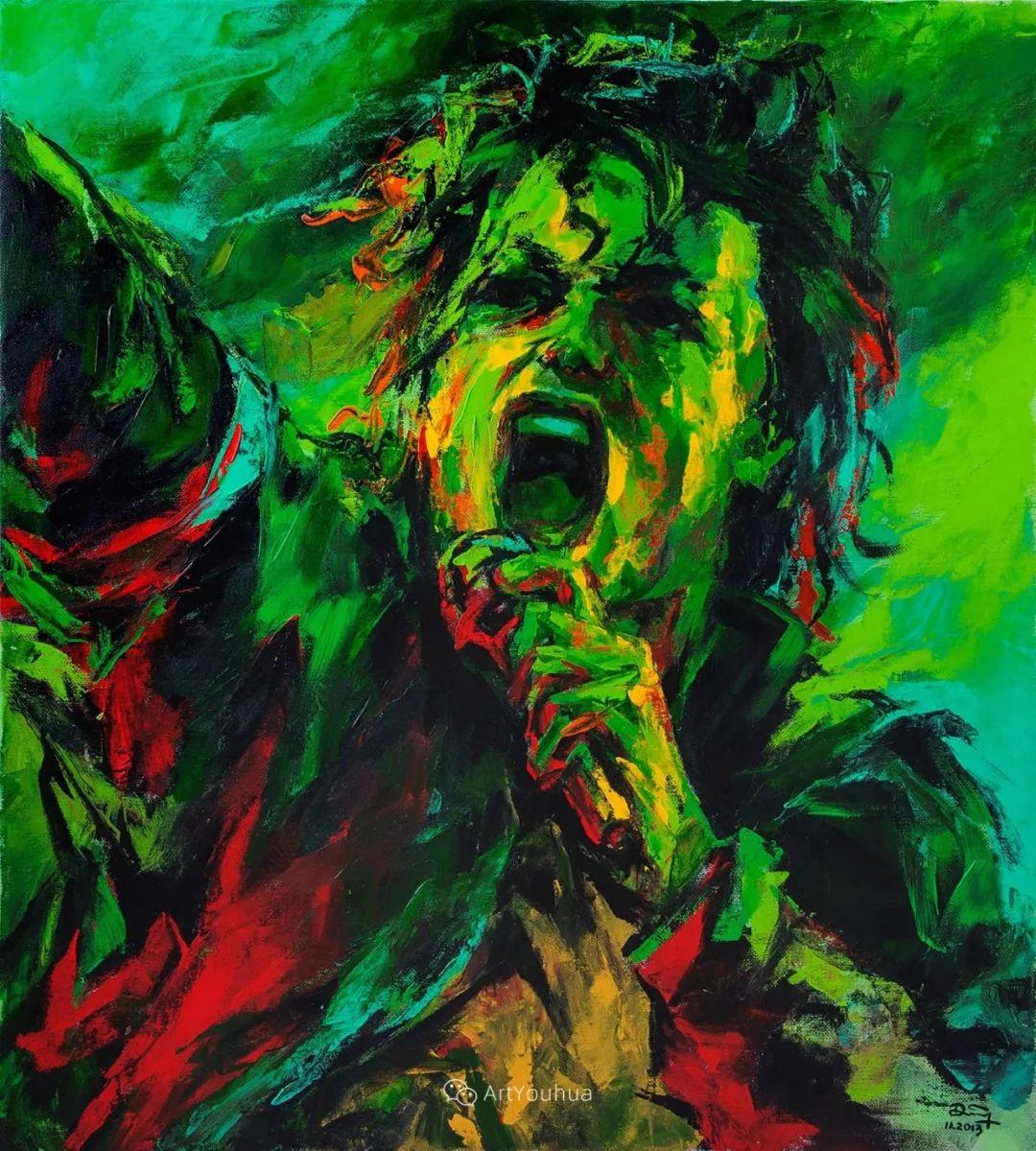 热情奔放的色彩,越南艺术家麦惠东插图59
