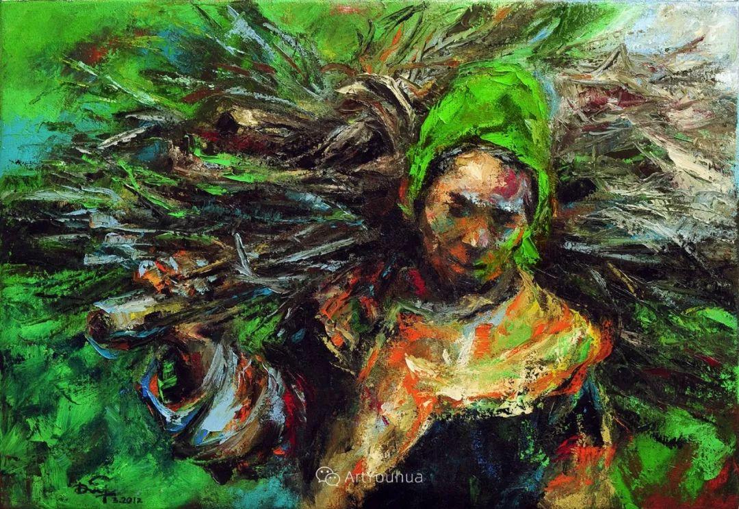 热情奔放的色彩,越南艺术家麦惠东插图61