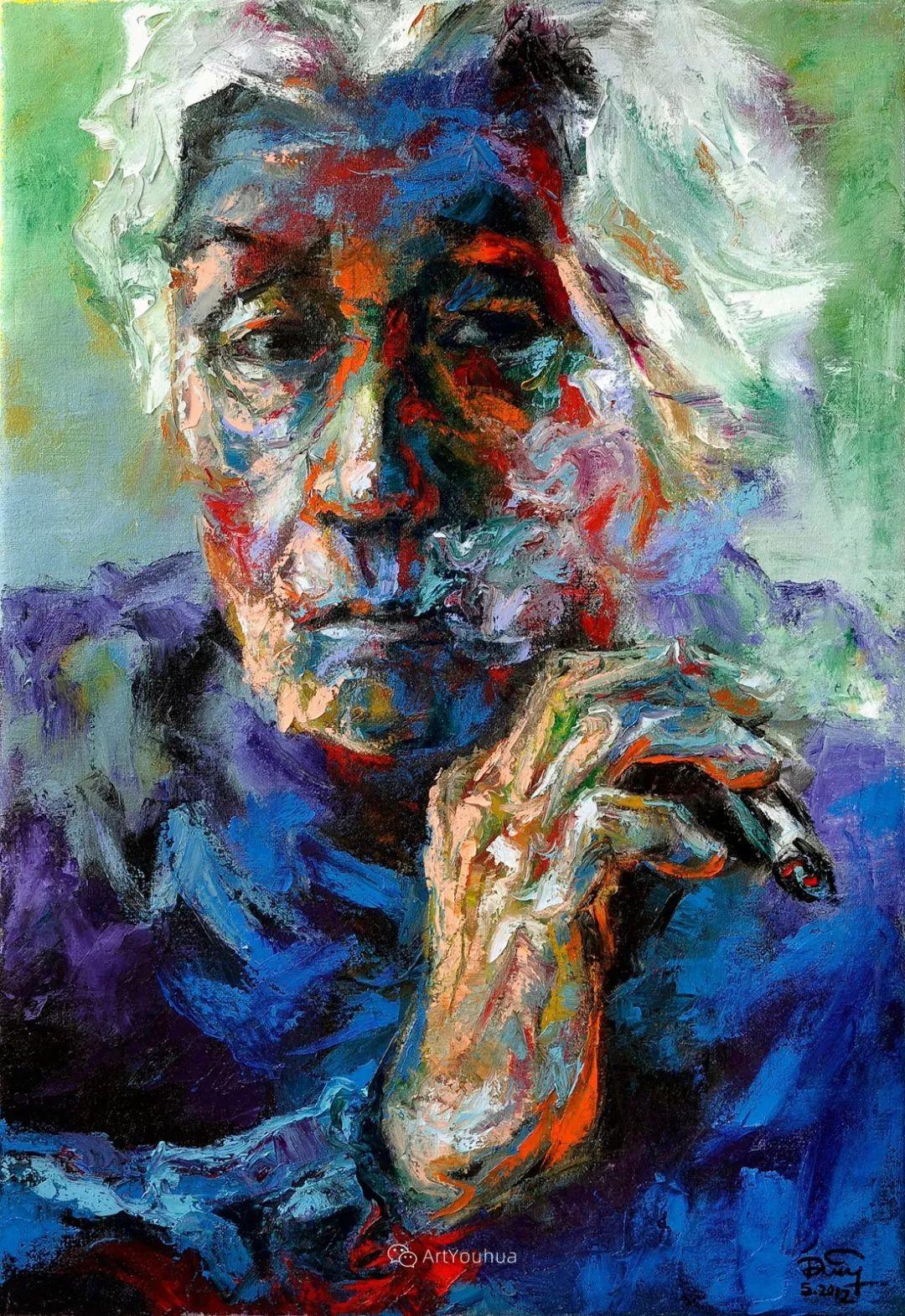 热情奔放的色彩,越南艺术家麦惠东插图62