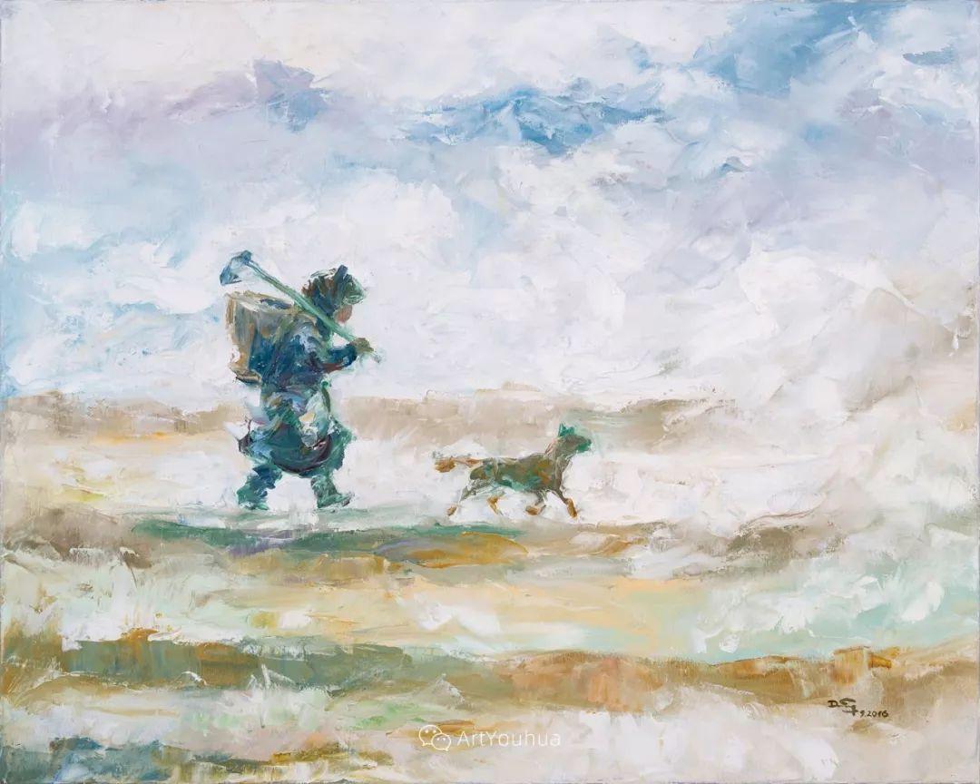 热情奔放的色彩,越南艺术家麦惠东插图63