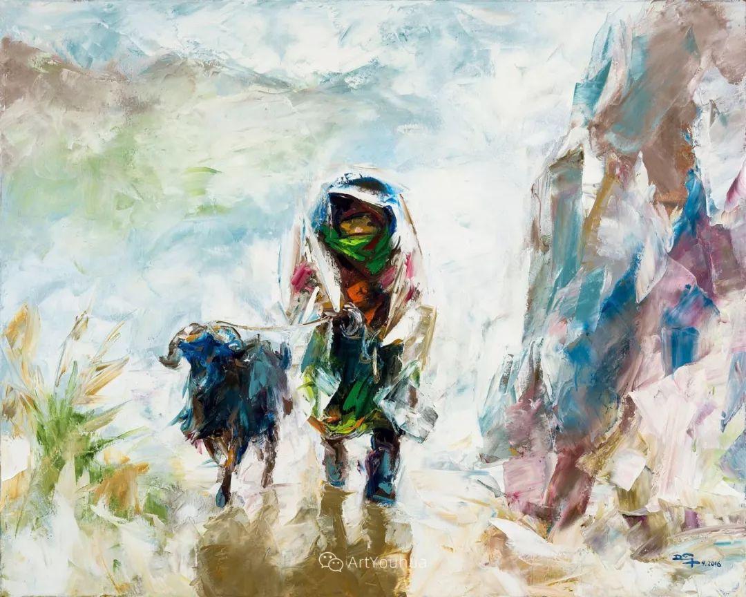 热情奔放的色彩,越南艺术家麦惠东插图64