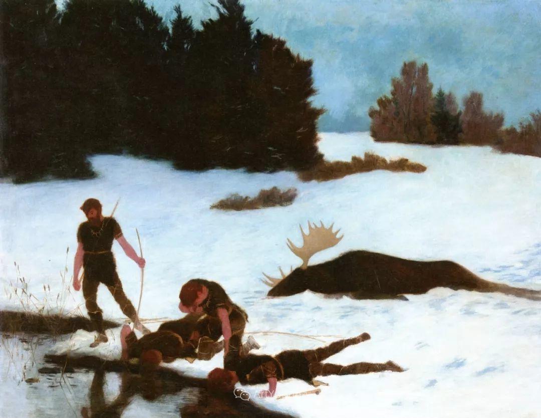 素雅的风格,瑞士艺术家汉斯·埃默尼格插图11