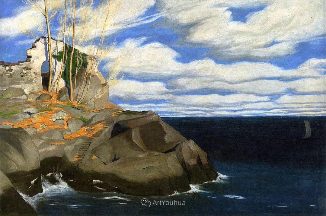 素雅的风格,瑞士艺术家汉斯·埃默尼格插图14