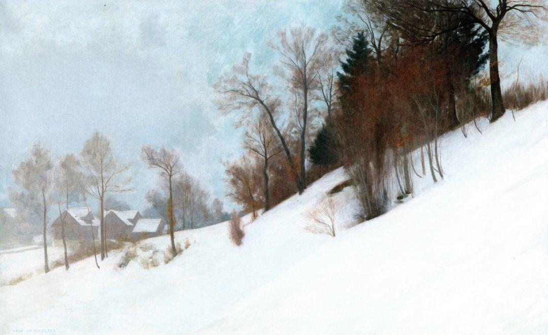 素雅的风格,瑞士艺术家汉斯·埃默尼格插图16
