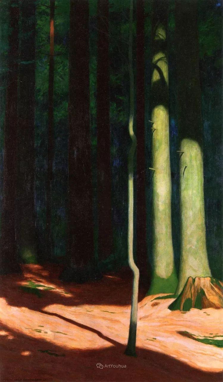 素雅的风格,瑞士艺术家汉斯·埃默尼格插图21