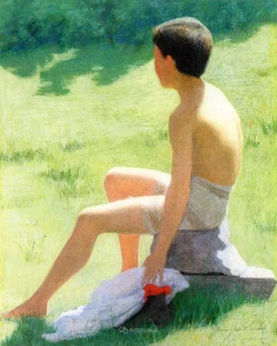 素雅的风格,瑞士艺术家汉斯·埃默尼格插图30