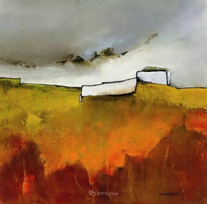 美妙的风景,丰富的肌理!荷兰艺术家埃米莉安娜·科达罗插图6