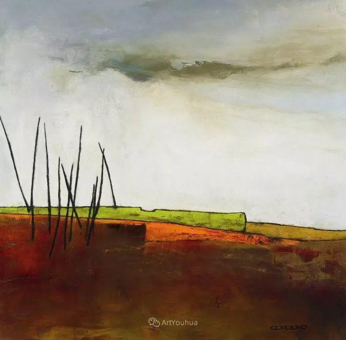 美妙的风景,丰富的肌理!荷兰艺术家埃米莉安娜·科达罗插图8