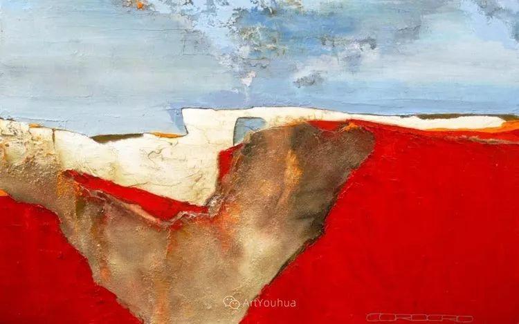 美妙的风景,丰富的肌理!荷兰艺术家埃米莉安娜·科达罗插图9