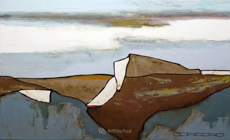 美妙的风景,丰富的肌理!荷兰艺术家埃米莉安娜·科达罗插图10