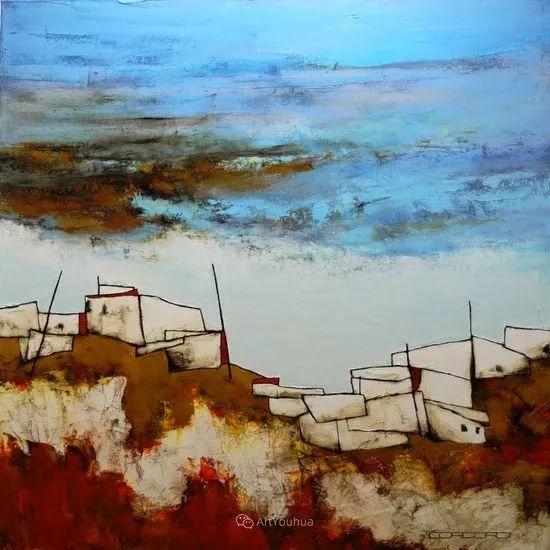 美妙的风景,丰富的肌理!荷兰艺术家埃米莉安娜·科达罗插图12