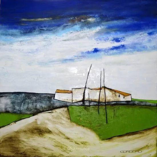 美妙的风景,丰富的肌理!荷兰艺术家埃米莉安娜·科达罗插图13