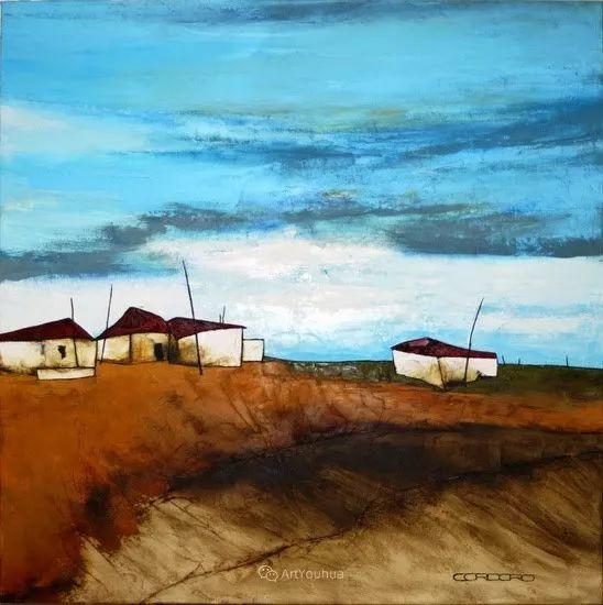 美妙的风景,丰富的肌理!荷兰艺术家埃米莉安娜·科达罗插图14