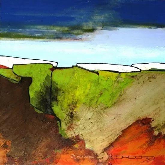 美妙的风景,丰富的肌理!荷兰艺术家埃米莉安娜·科达罗插图16