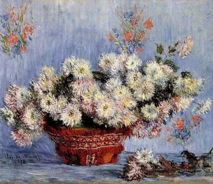 完美的色调,经典花卉作品75幅插图1