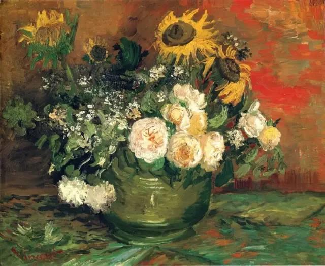 完美的色调,经典花卉作品75幅插图3