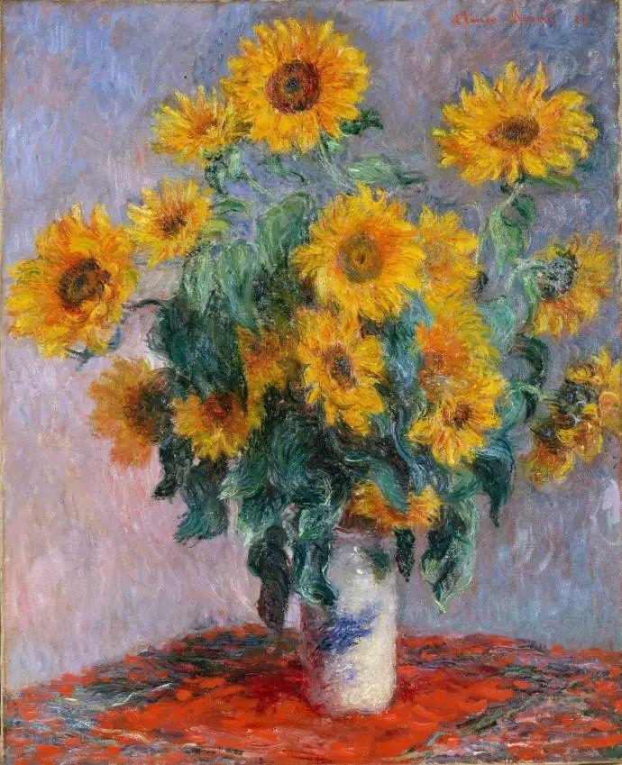 完美的色调,经典花卉作品75幅插图5