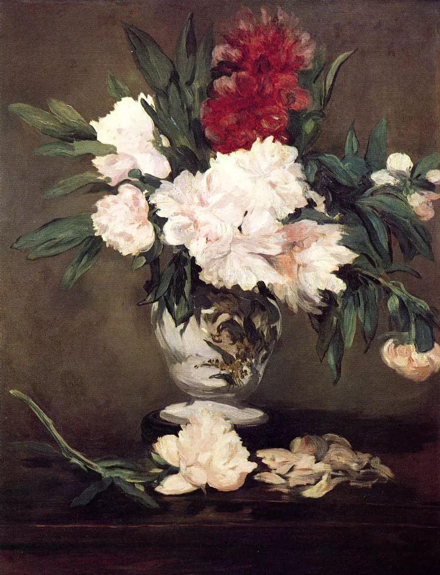 完美的色调,经典花卉作品75幅插图9