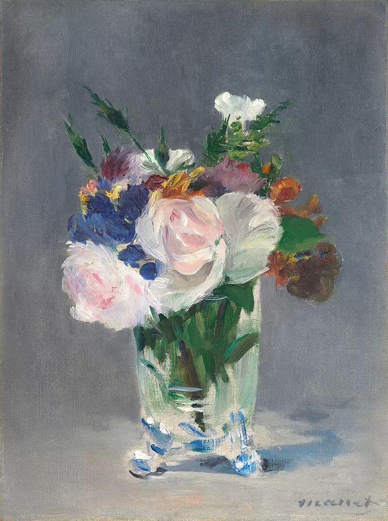 完美的色调,经典花卉作品75幅插图11