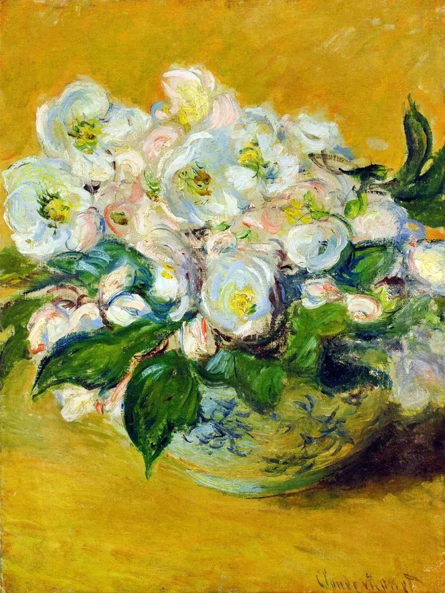 完美的色调,经典花卉作品75幅插图15