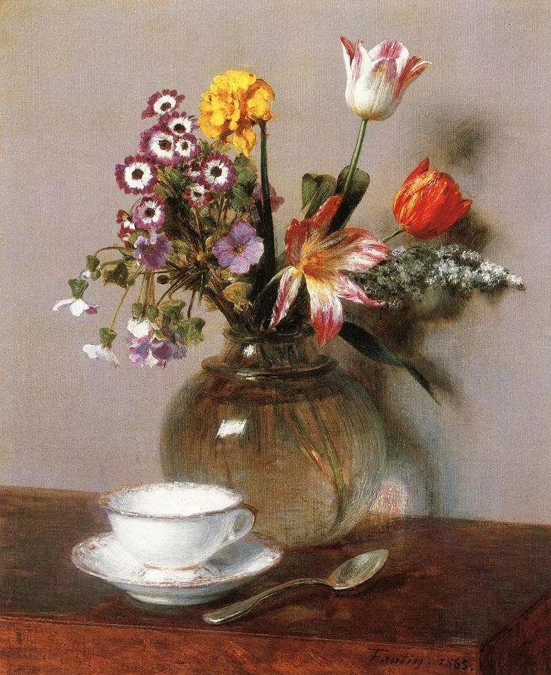 完美的色调,经典花卉作品75幅插图19