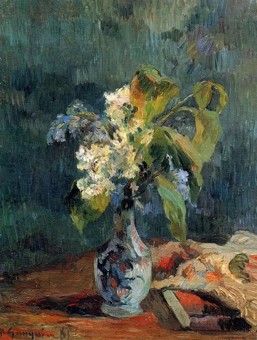 完美的色调,经典花卉作品75幅插图23