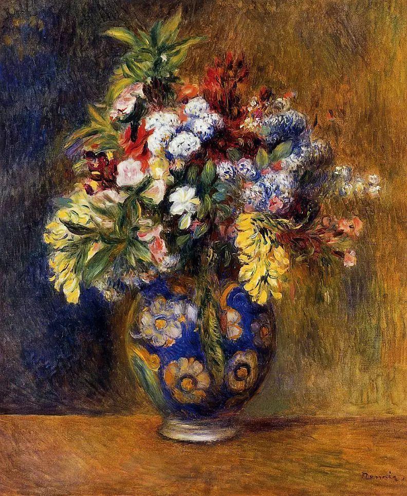 完美的色调,经典花卉作品75幅插图27