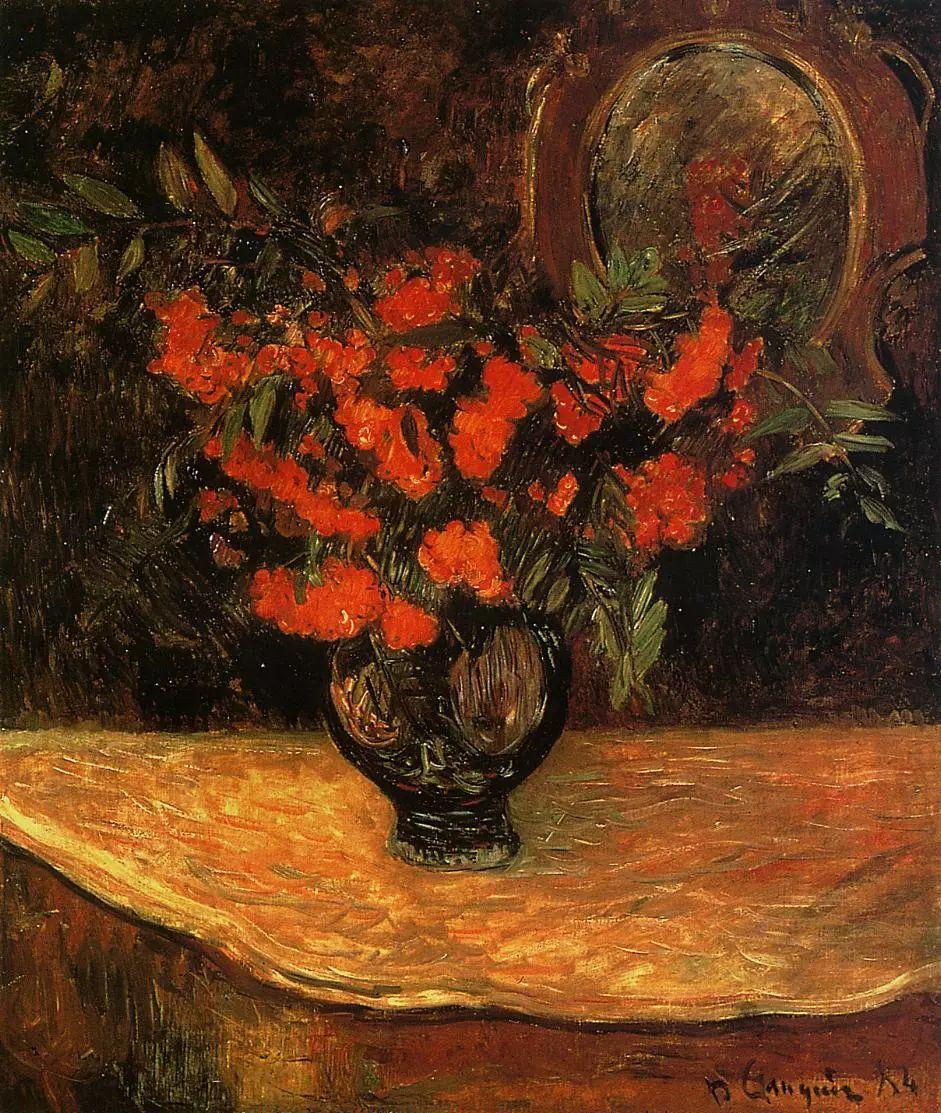 完美的色调,经典花卉作品75幅插图29