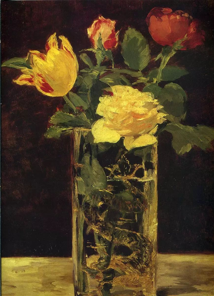 完美的色调,经典花卉作品75幅插图31