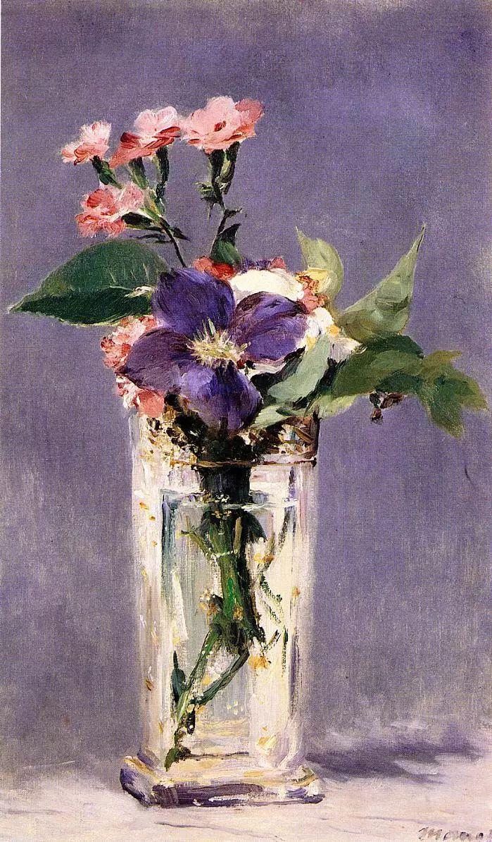 完美的色调,经典花卉作品75幅插图33