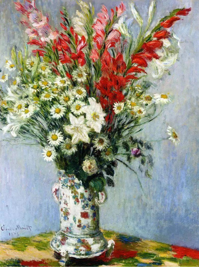 完美的色调,经典花卉作品75幅插图47