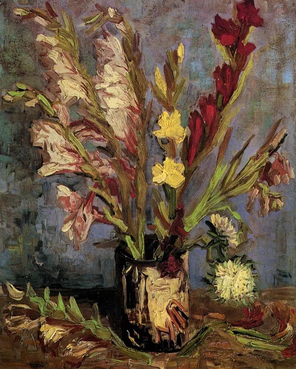 完美的色调,经典花卉作品75幅插图55