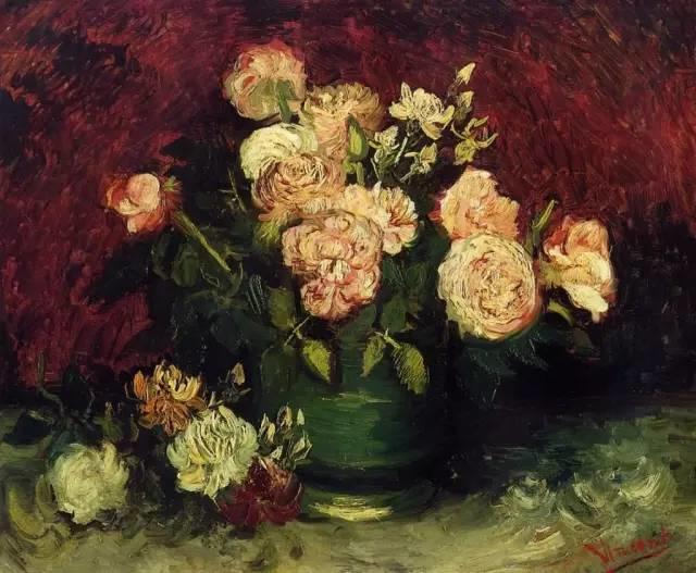 完美的色调,经典花卉作品75幅插图61