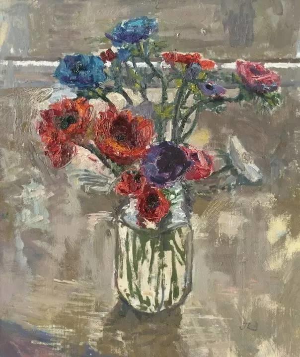 完美的色调,经典花卉作品75幅插图63