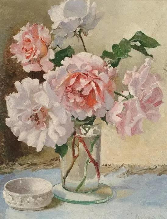 完美的色调,经典花卉作品75幅插图65