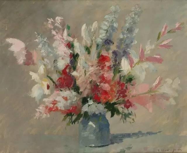 完美的色调,经典花卉作品75幅插图67