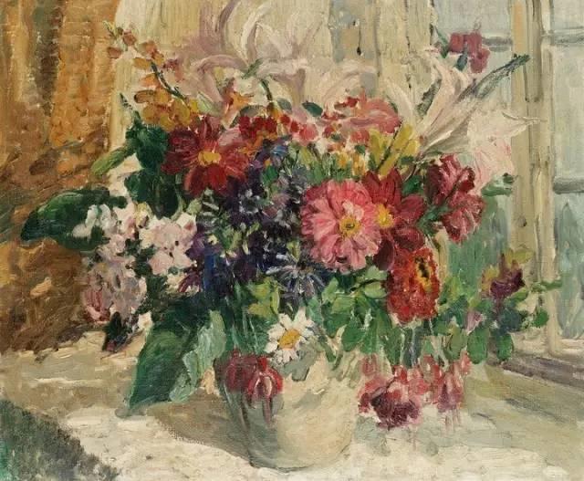完美的色调,经典花卉作品75幅插图69