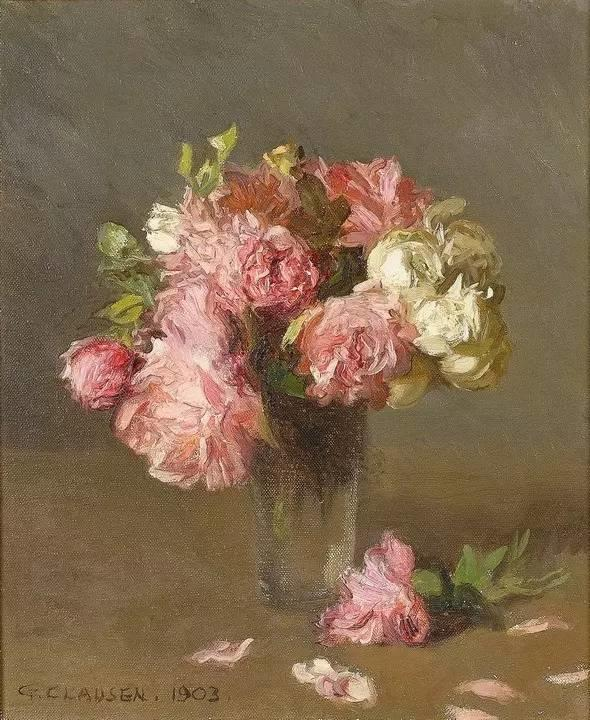 完美的色调,经典花卉作品75幅插图71