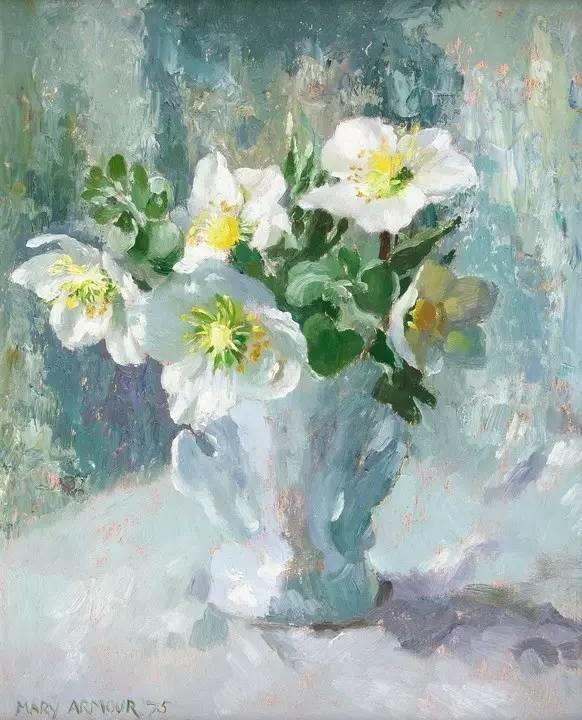 完美的色调,经典花卉作品75幅插图73