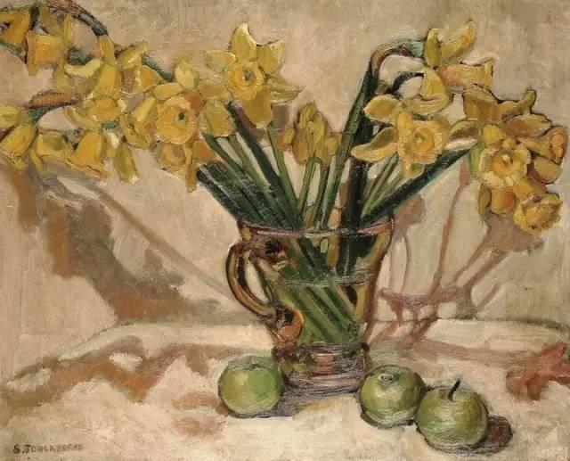 完美的色调,经典花卉作品75幅插图75