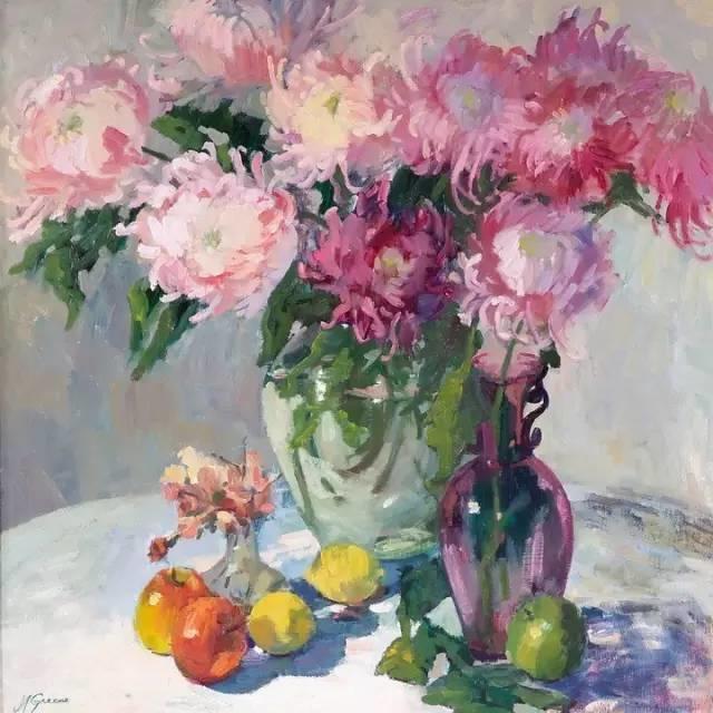 完美的色调,经典花卉作品75幅插图77
