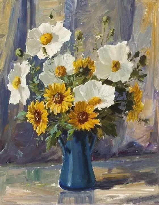 完美的色调,经典花卉作品75幅插图79