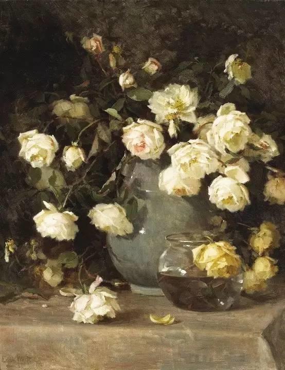 完美的色调,经典花卉作品75幅插图81