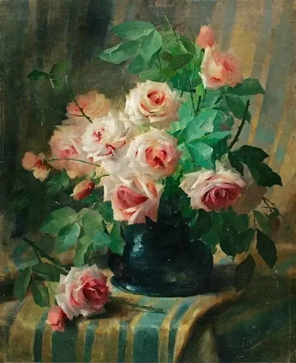 完美的色调,经典花卉作品75幅插图85